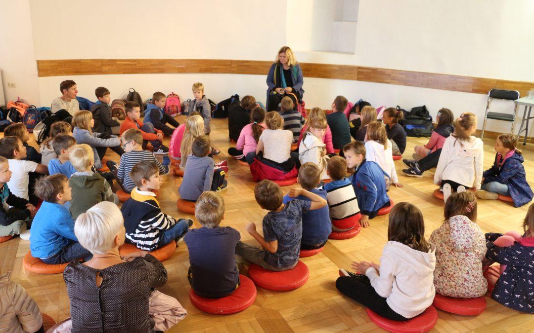 V Posavskem muzeju Brežice – kulturni dan, 1.-3. razred