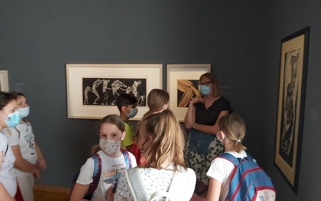 "Kulturni dan ""Galerija Božidar Jakac"", 6. razred"